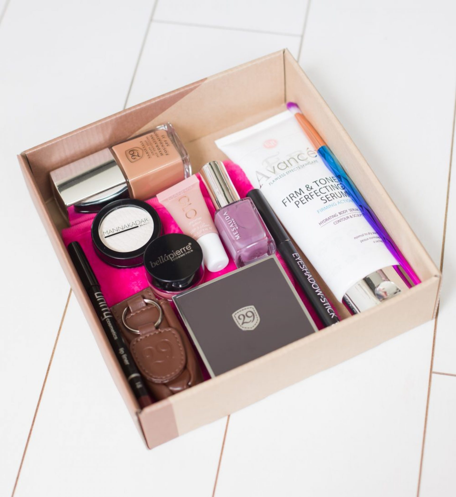 Alle producten in de box - Limited Edition special StyleTone box