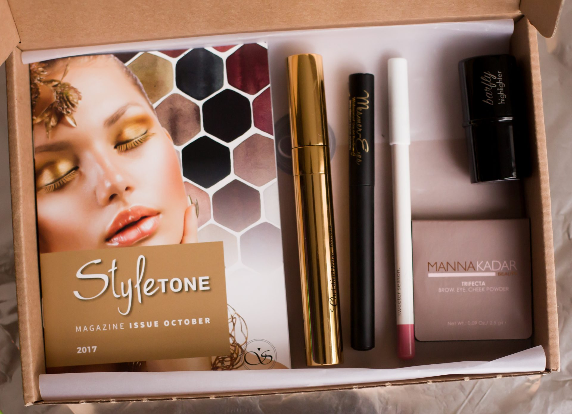 Alle producten in de box - StyleTone box oktober