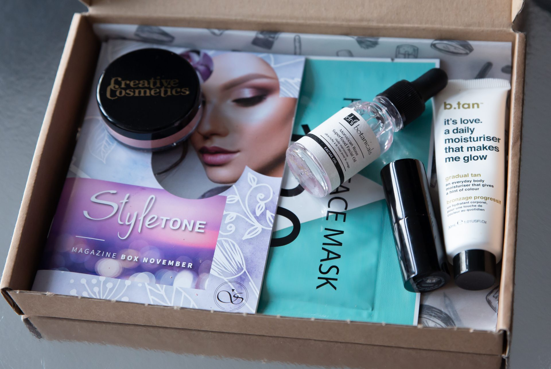 StyleTone november - Alle producten in box