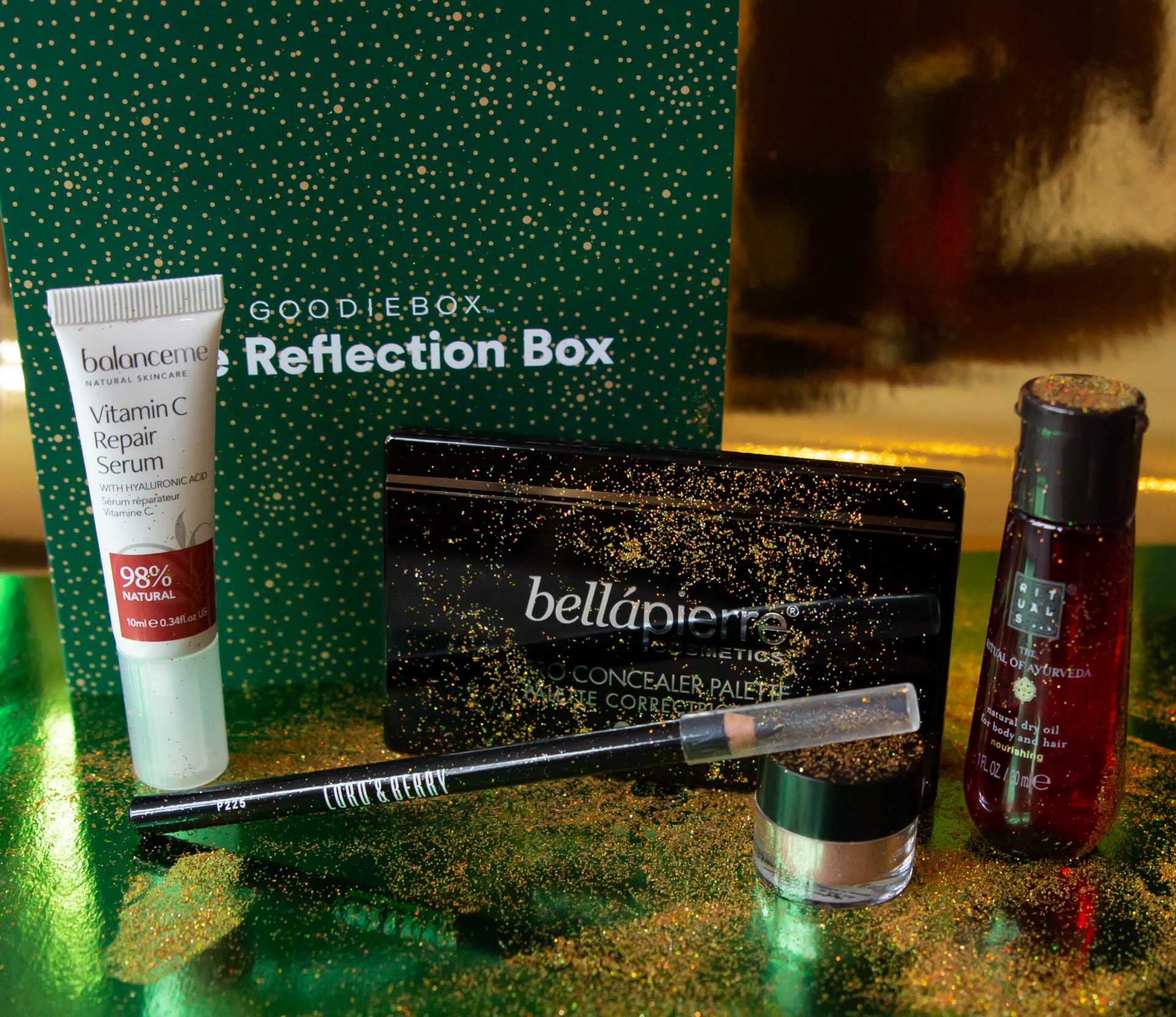 Unboxing Goodiebox december - Alle producten