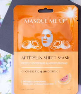 Masque me up Aftersun mask Goodiebox 2019