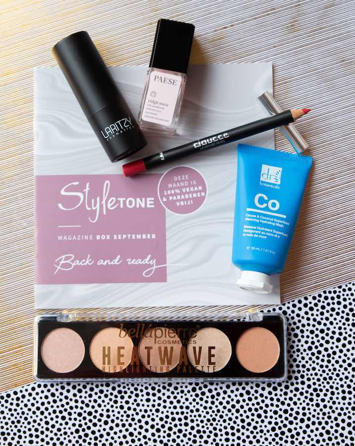 Alle producten ST box september 2019