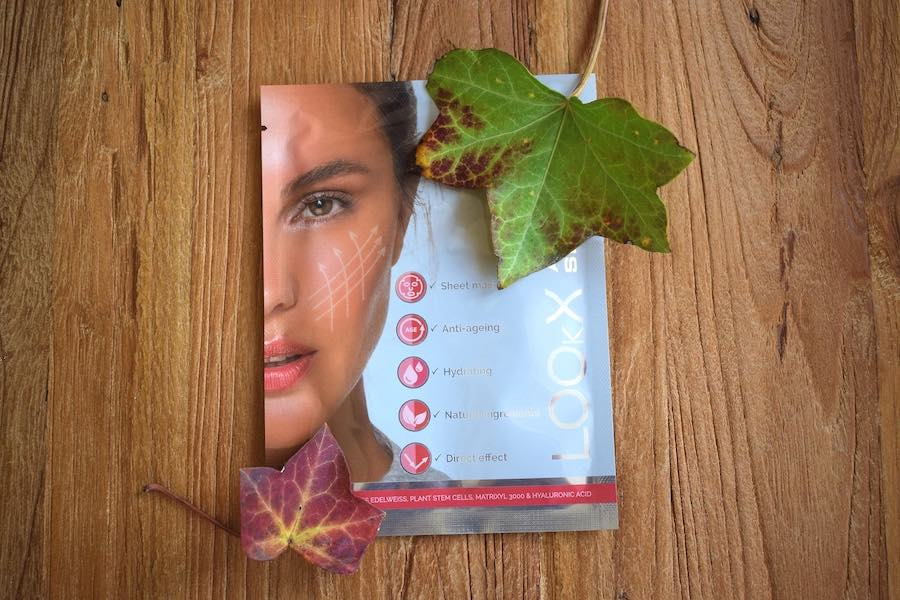LookX Sheet mask Bluxbox september-oktober 2019