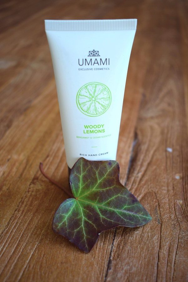 Umami Hand cream Bluxbox september-oktober 2019