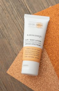 Karmameju Sun body Lotion GB 06 2020