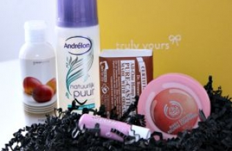 Unboxing Truly Yours Box mei 2013